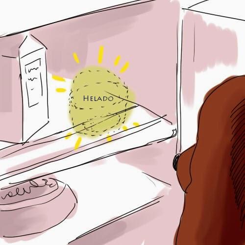 Llegar a tu casa y que se hayan comido tu helado... viñeta 2