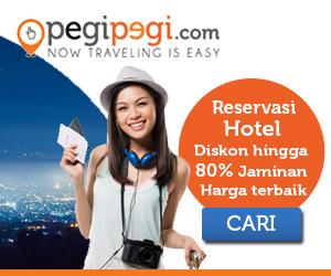 PegiPegi Reservasi Hotel Diskon 80%