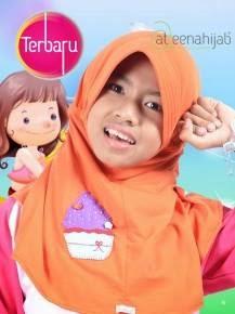 jilbab hijab anak syar'i murah lucu cantik berkualitas