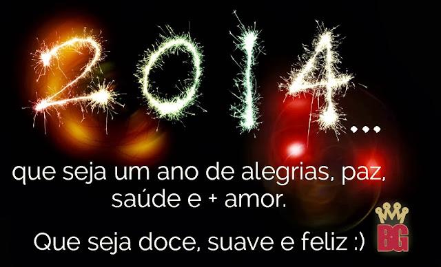 Feliz 2014 Blog No Balaio da Gata