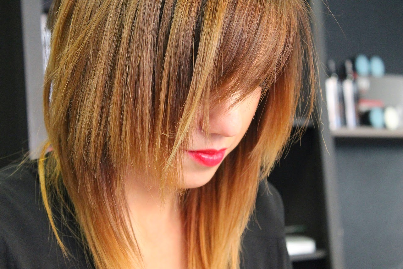Carmen Hummer, Maxi Bomber, H&M, BaggyPants Hakei, Look, Street Style, Salón Blue, Hair, Peluqueria, HairStyle, Color, Blue Girls, Ojala Comillas, Belleza Capilar, QHair