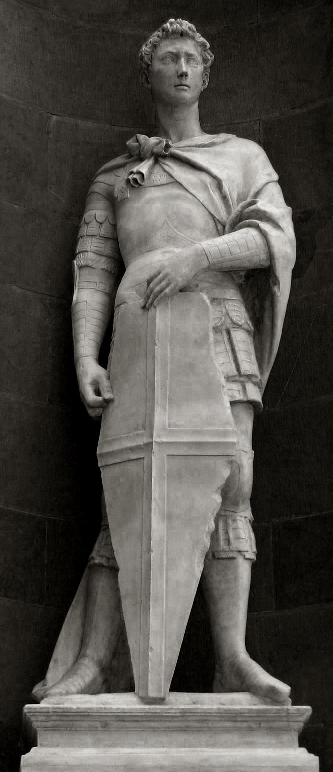 en clase de historia del arte escultura en el