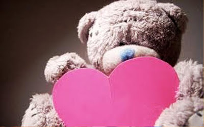 Gambar Wallpaper Teddy Bear Love Pink