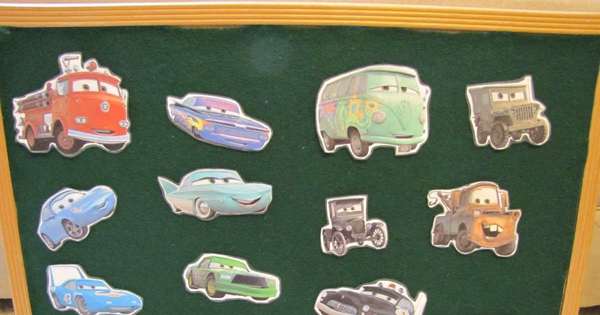 H is for Homeschooling: Felt Board- Pixar Cars, Adam and Eve