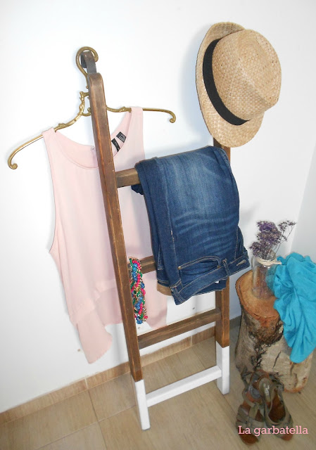 """Mi """"nueva"""" escalera de madera"""