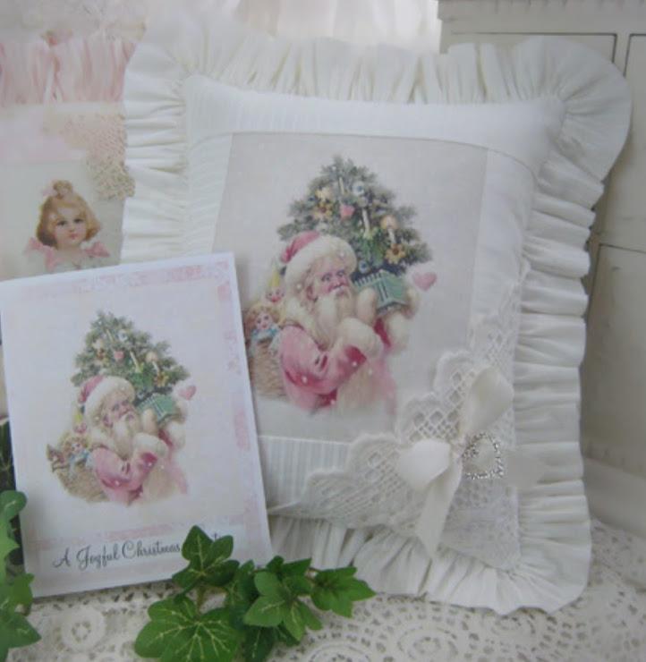 Cuscino natalizio elegante