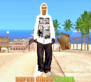 [Mod GTA SA] Winter Skin 1