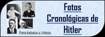 Fotos Cronológicas de Adolfo Hitler