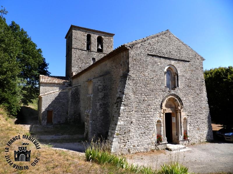 La france medievale sainte jalle 26 eglise romane for Eglise romane exterieur