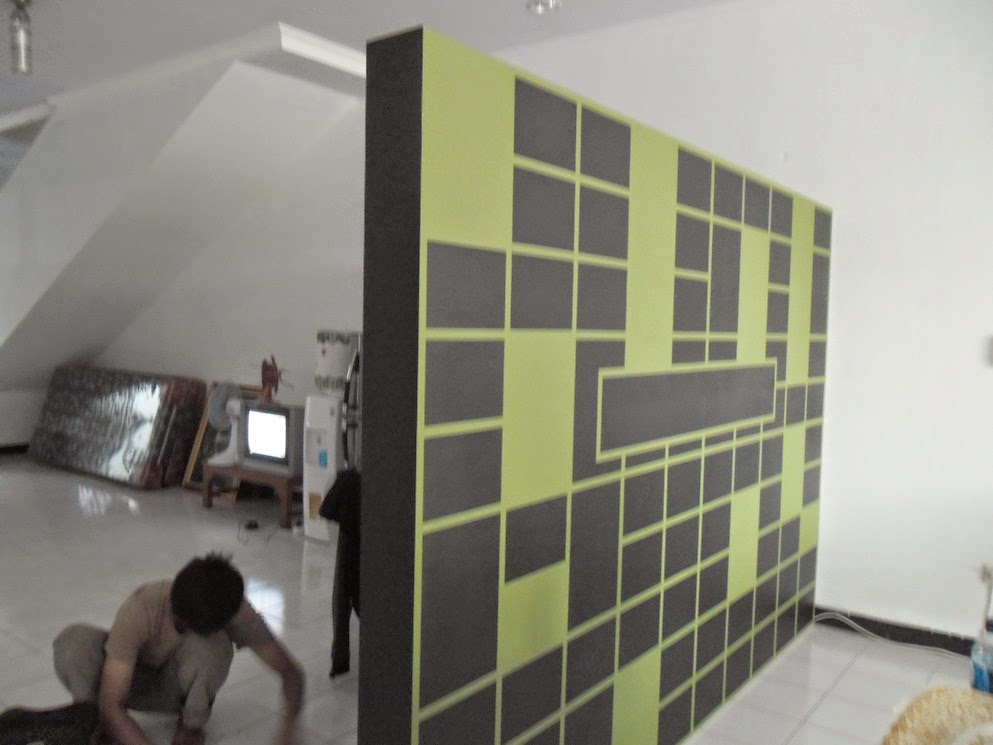 Rak Tv & Sekat Minimalis - Furniture Semarang 02