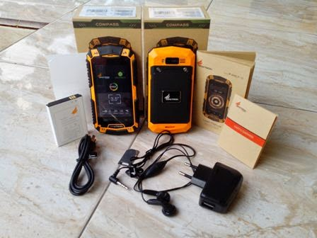 Review Smartphone Android Outdoor Maxtron IP67-3