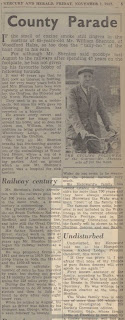 Northampton Mercury 7th November 1952