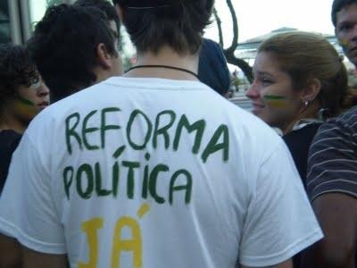Brasil - Reforma política: UM DESAFIO DEMOCRÁTICO