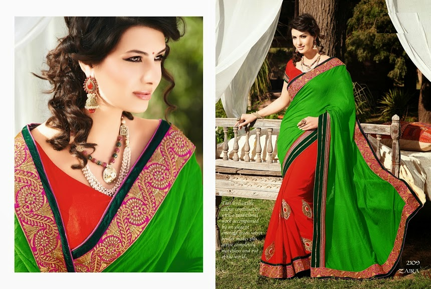 Bridal Embroidered Sarees