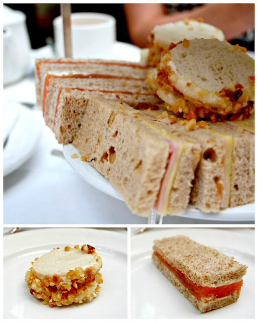 Afternoon tea sandwich selection from Butler's at The Chesterfield Mayfair