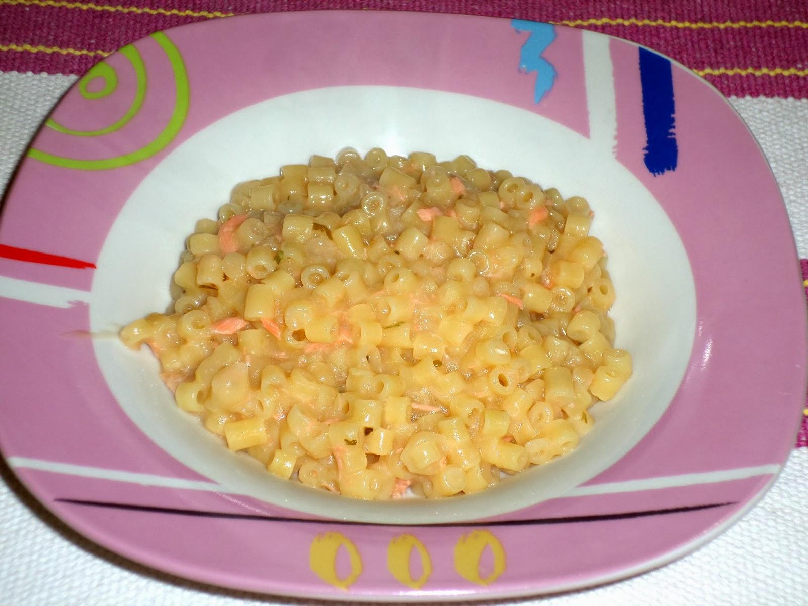 receita de macarrão com salmão