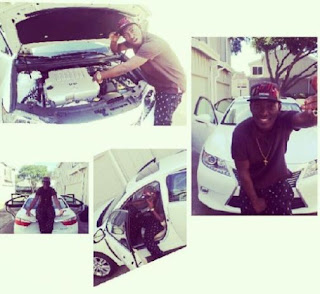 Singer Dammy Krane's mother separated for 10 years buys him a car in the US