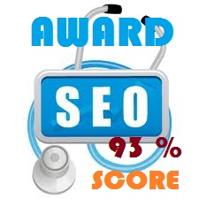 Award SEO Blog Score