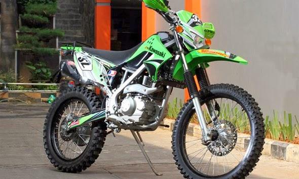 Modifikasi Kawasaki Trail KLX 150 Keren Terbaru