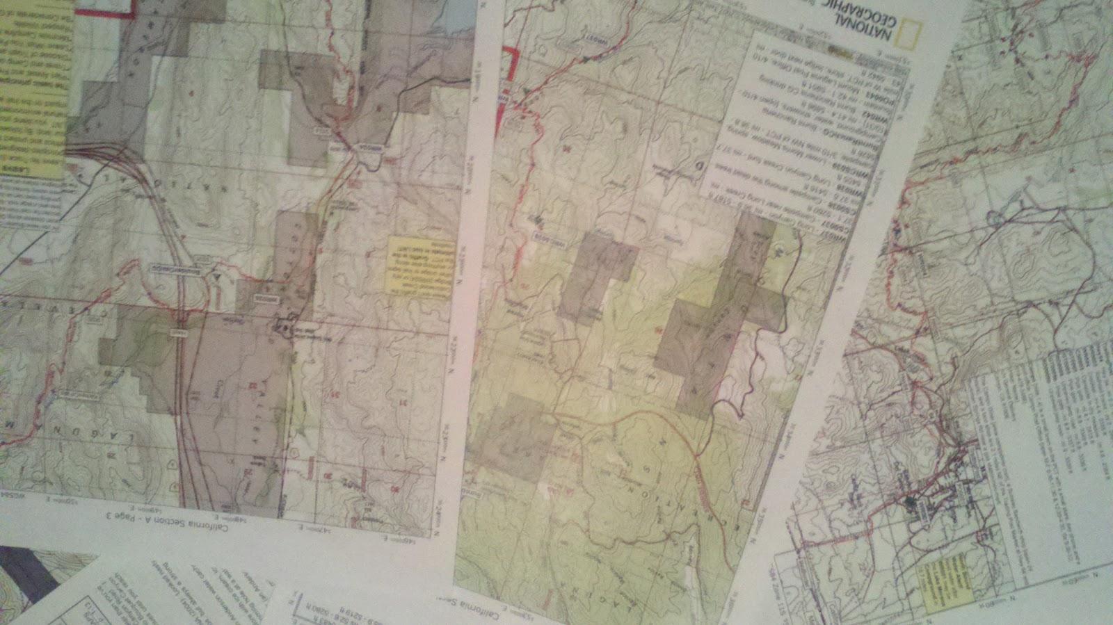 Kellie\'s PCT Hike: Maps, eyes, and potatoes...