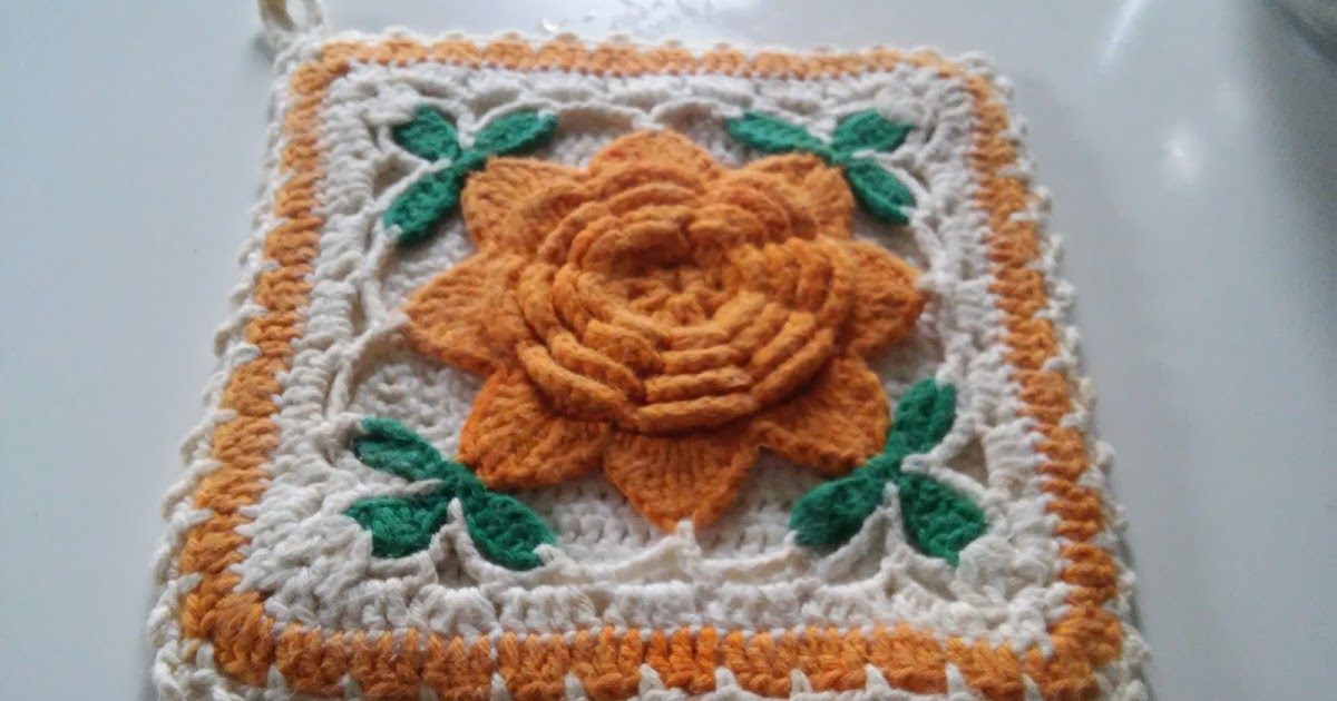 275 Tage Granny Squares - 73. Granny - Anleitung/ chrochet Pattern