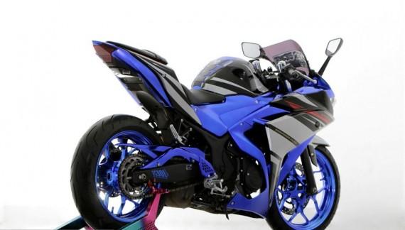 Modifikasi Yamaha R25 Dengan Tampilan Ekspresif