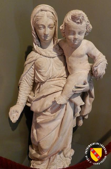 PONT-A-MOUSSON (54) - Musée Au fil du Papier : Vierge à l'Enfant (1630)