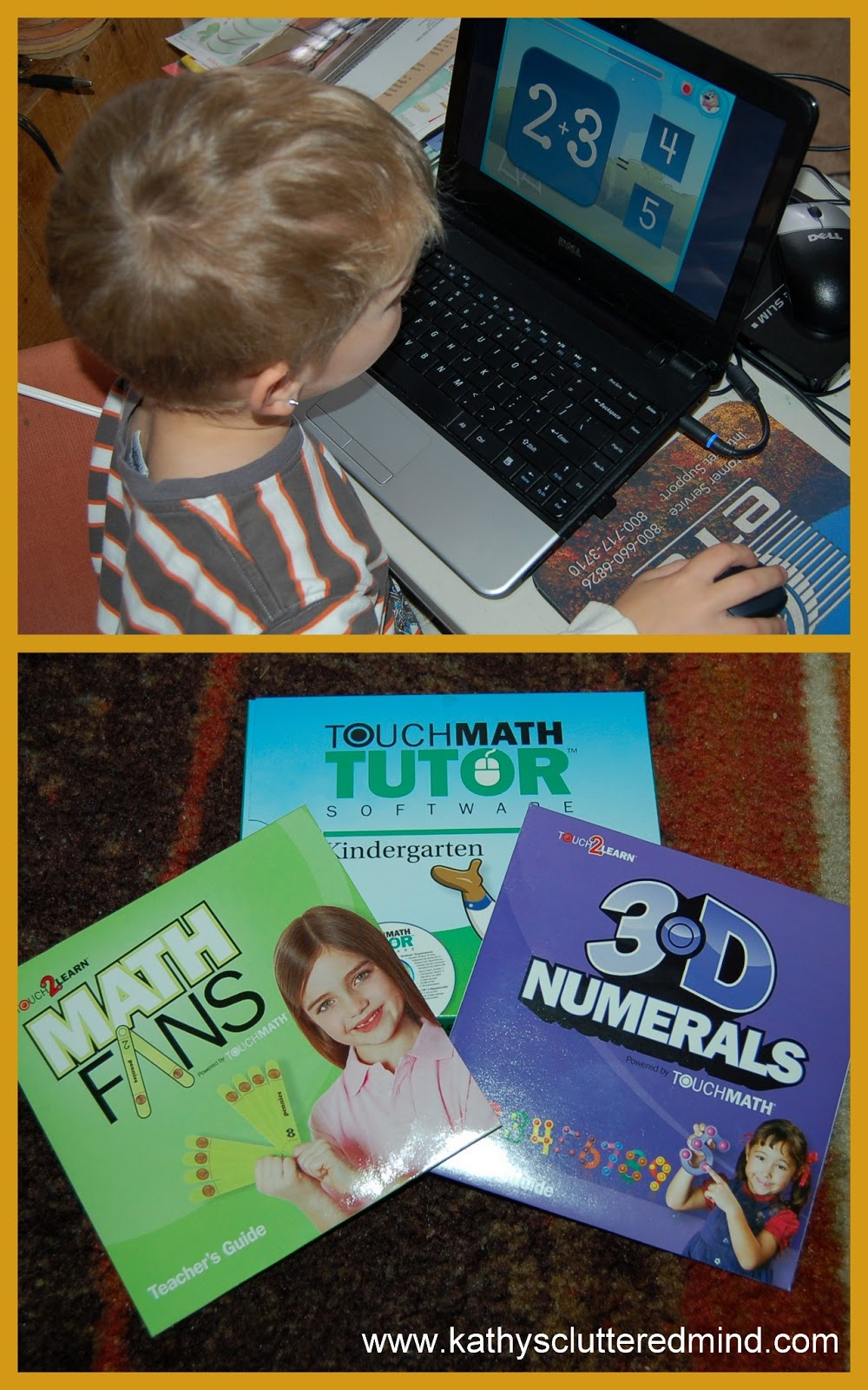 Kathys Cluttered Mind: TouchMath Review - The Perfect Math For ...