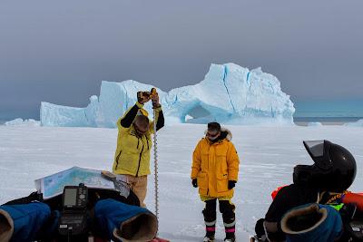 Iceberg Fast Ice