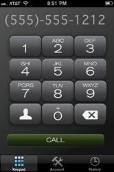 Phone Call Recording iPhone App - PhoneTap