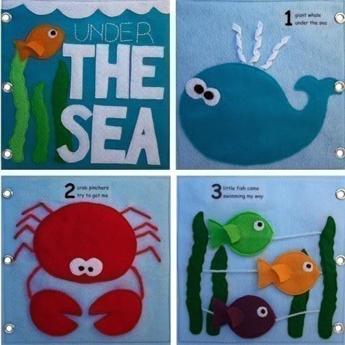 Развивающие книги для детей 1-2 года своими руками фото