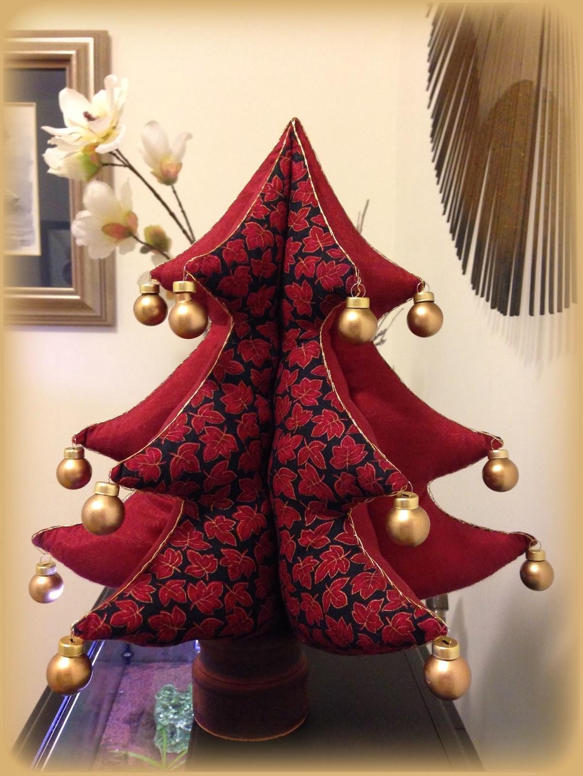 Trampantojos de costura arbolito de navidad - Arbolito de navidad ...