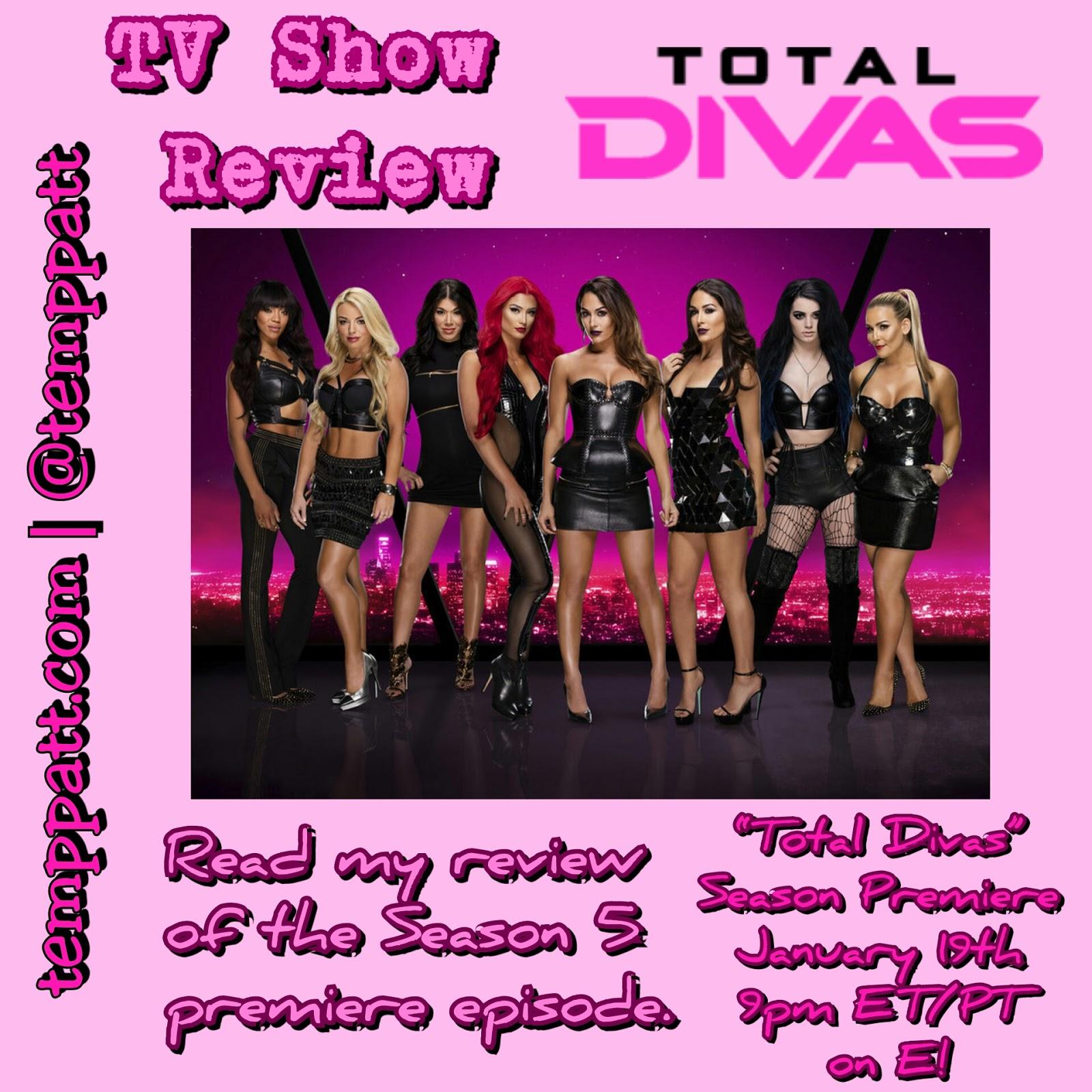Tv show review total divas temppatt for Diva tv