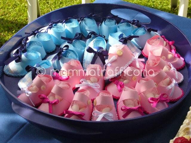 Bomboniere Di Carta Battesimo : Mammatrafficona bomboniere per il battesimo le scarpine di
