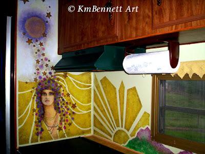 Camper mural KmBennettArt