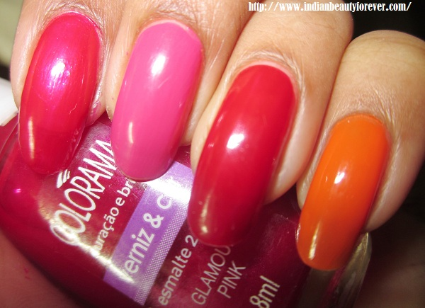 Maybelline Colorama nail paints