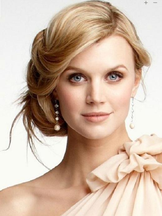 elegantes peinados para novias moda y tendencia