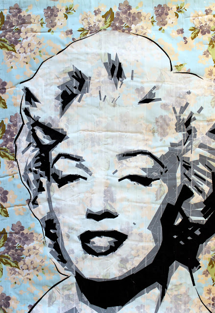 Marilyn Monroe street art israel fashion painter artwork pop modern
