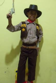 KSD-018 Kostum Cowboy Amerika