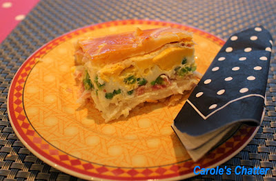 Bacon & egg pie by Carole's Chatter - a Kiwi classic