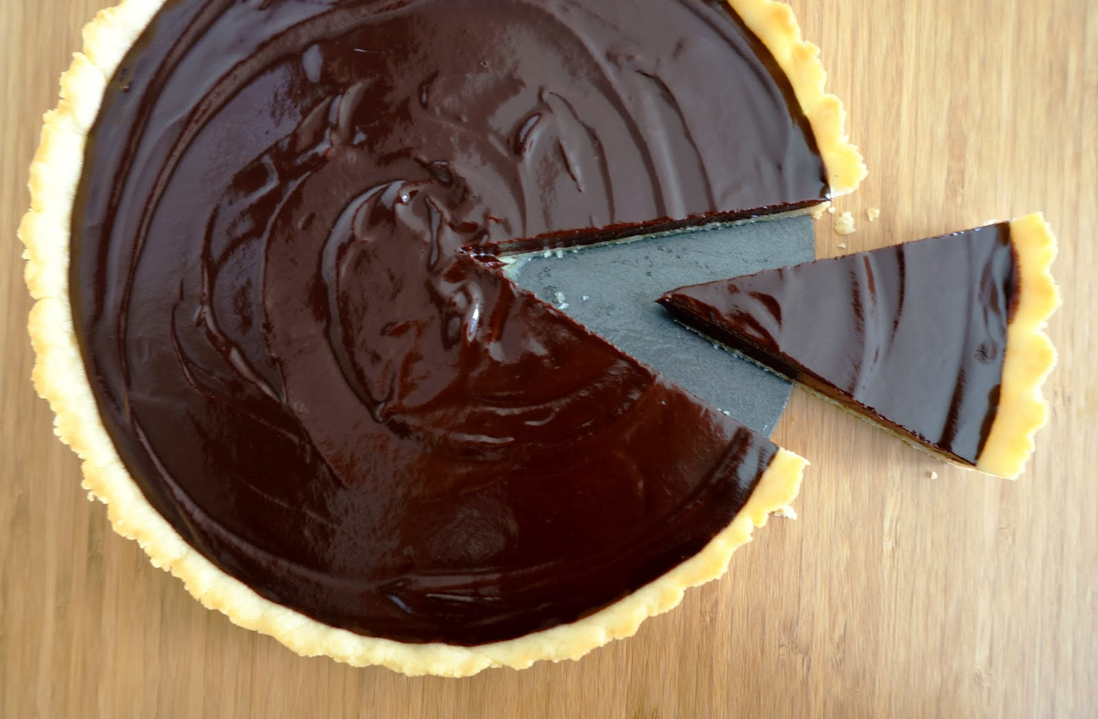 Miss Hangrypants: Chocolate Ganache Tart