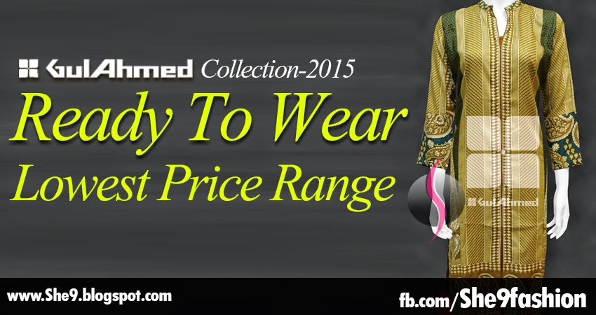 Gul Ahmed Lowest Price Range Collection