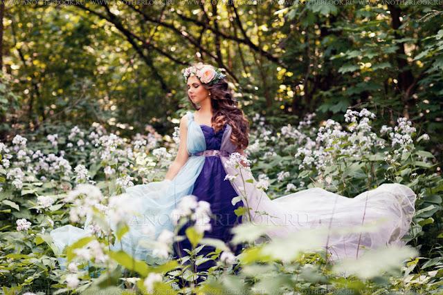 платье напрокат для фотосессии феи