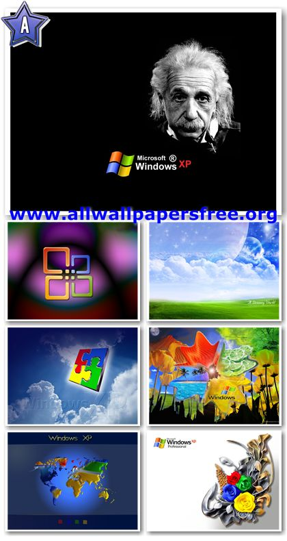 300 Colorful Windows XP Wallpapers 1600 X 1200