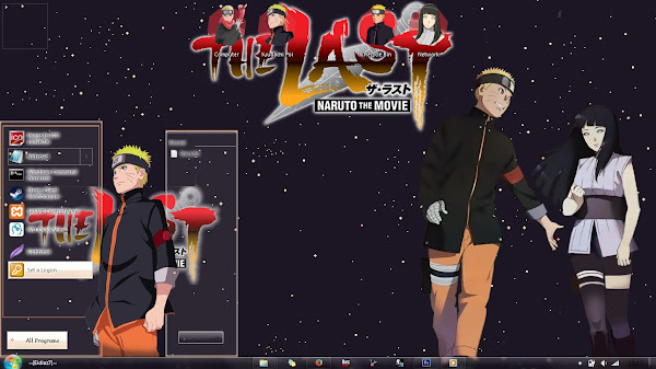 [Theme Win 7] Naruto The Last Movie – Naruto x Hinata by Eldiaz7 2