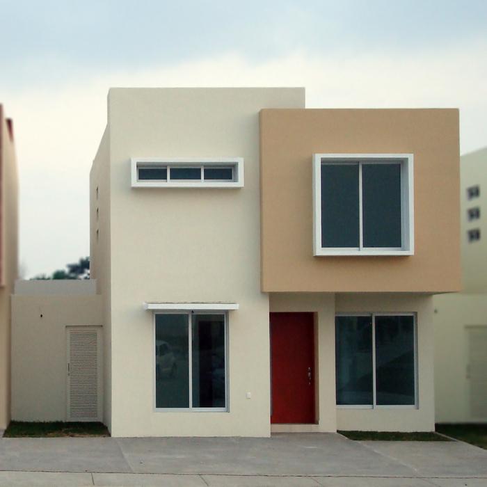 Fachadas contempor neas fachadas contempor neas modelo b2 Decoracion de casas contemporaneas
