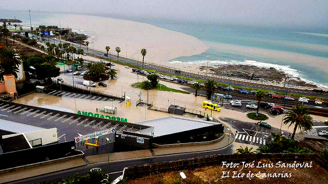 Termina alerta por lluvias en Canarias 25 octubre
