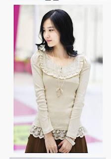 modelo de blusa social com babado 05