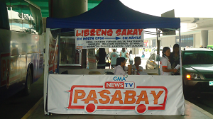 GMA NEWS TV Pasabay On The Go Libreng Sakay