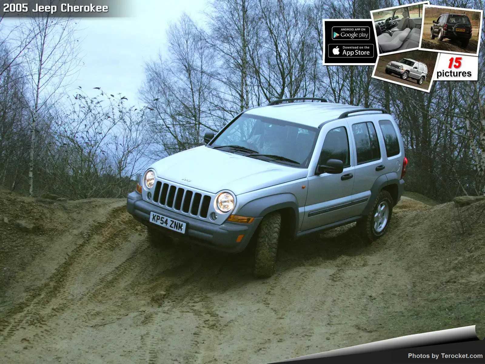 Hình ảnh xe ô tô Jeep Cherokee UK Version 2005 & nội ngoại thất